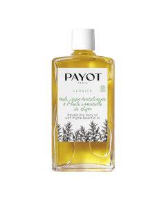 Payot Herbier Huile Corps Revitalisante Thym 95 Ml